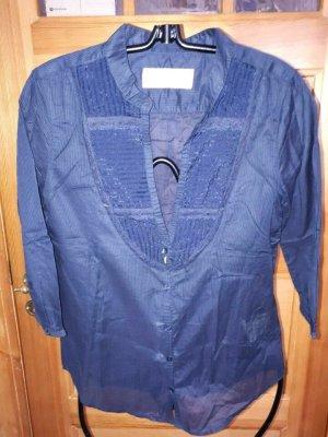 Neue, leichte, dunkelblaue Bluse, Bleifrei, XS