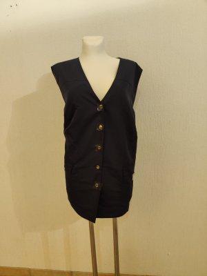 Sports Vests dark blue polyester
