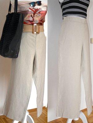 someday Pantalón de lino beige claro Lino