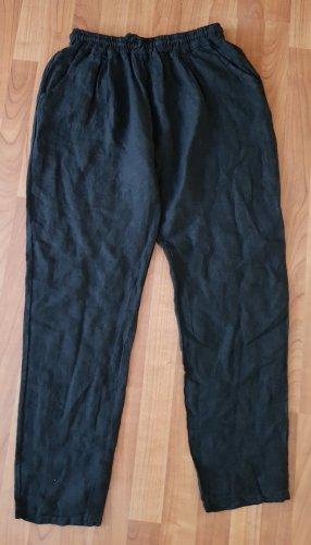 Pantalone di lino nero