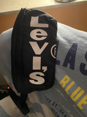 Levi's Riñonera negro-blanco