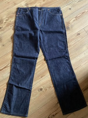 Levi's Boot Cut Jeans dark blue cotton
