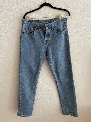 neue Levi's Premium Jeans 501 hellblau, Gr. 28/28