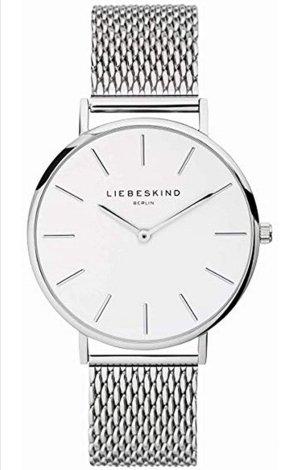 Liebeskind Montre avec bracelet métallique blanc-argenté
