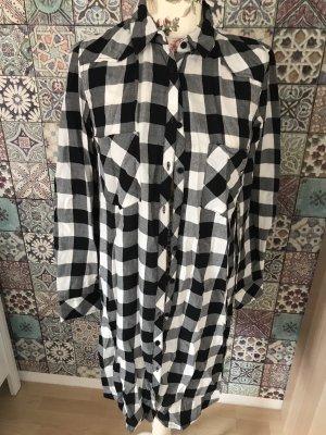 LTB Camicia a scacchi nero-bianco
