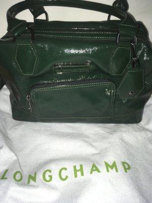 Longchamp Borsa da bowling verde bosco