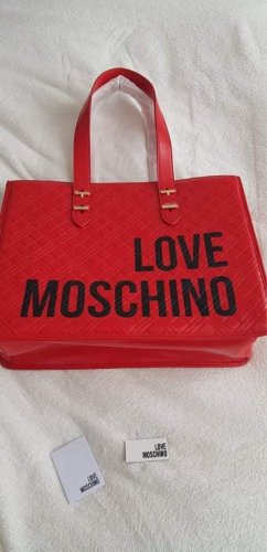 Love Moschino Shopper rouge