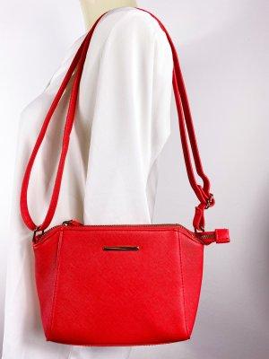 neue luxuriöse Statement Tasche aus London - Rot - Trapez