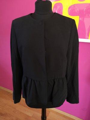 Neue Mango Schößchen-Jacke schwarz