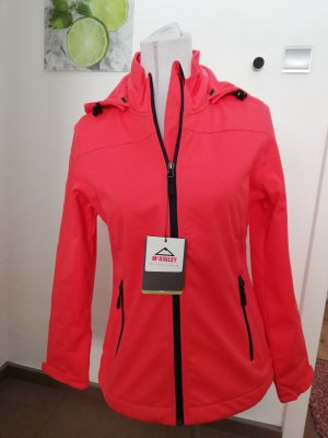 McKinley Giacca softshell rosso lampone