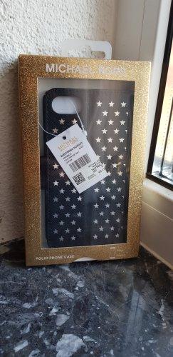 Michael Kors Pokrowiec na telefon komórkowy czarny-srebrny