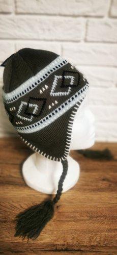 Neue Mütze Wintermütze Skimütze Beanie Pudelmütze  neu und ungetragen