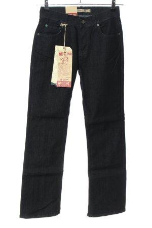 Neue Mustang Straight-Leg Jeans schwarz/dark blue Casual-Look