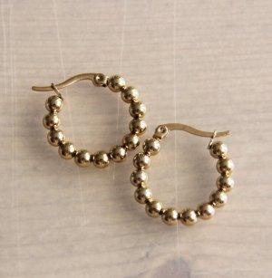 Unbekannte Marke Pendientes de oro color oro