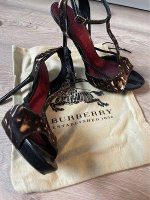 Burberry High Heel Sandal multicolored