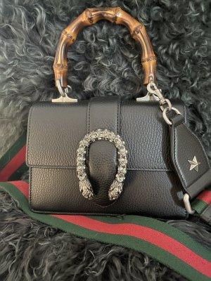 Gucci Bolso con correa negro