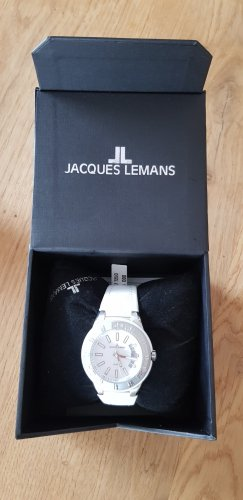 Jacques Lemans Watch With Leather Strap multicolored