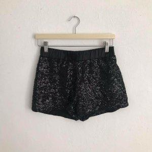 neue Pailletten-Hotpants