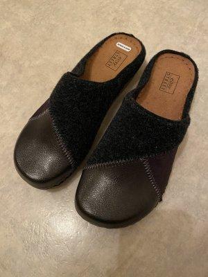 Pantoufles noir