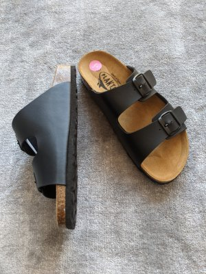 Plakton Sandalo comodo nero