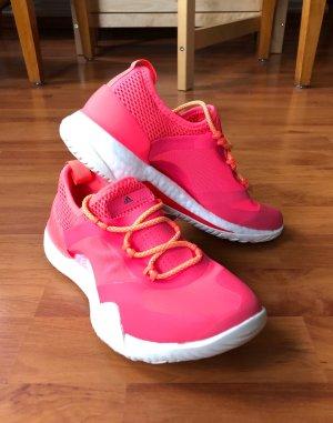 Neue Pinke Adidas Stella McCartney Pure Boost X TR 3.0 Sneakers 36