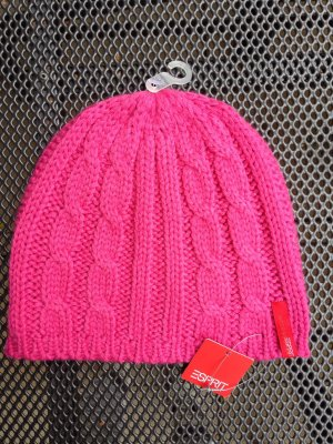 Esprit Knitted Hat pink