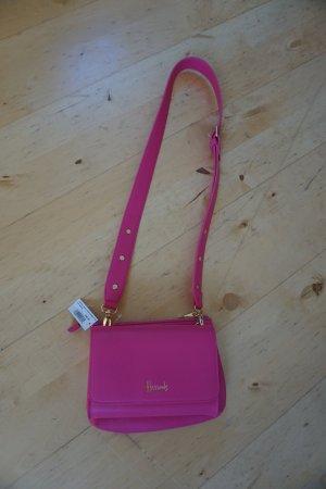 Neue pinke Umhängetasche, Crossover Bag, gold Harrods London
