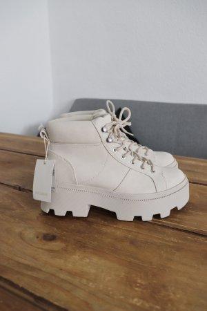 Neue Plateau Boots Stiefeletten von Pull&Bear Größe 37 Fashion Blogger
