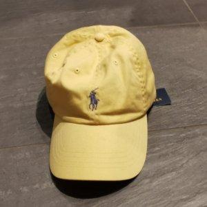 Polo Ralph Lauren Gorra de béisbol amarillo claro