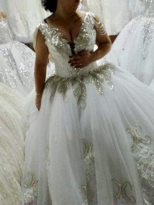 Wedding Dress white chiffon