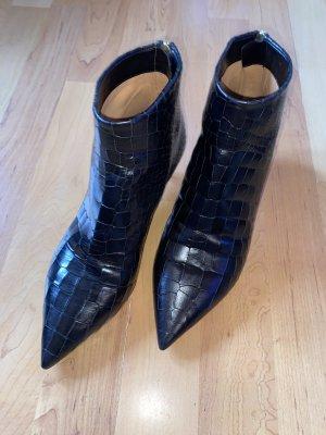 Neue Pura Lopez Leder Stiefeletten