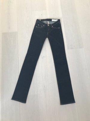 Rag & bone Tube jeans donkerblauw