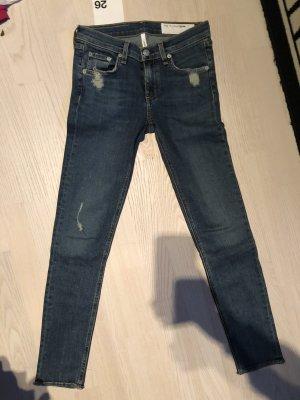 Rag & bone Tube jeans blauw