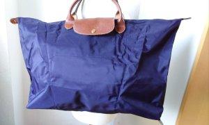 Neue Reisetasche, le pliage lila, Myrtille