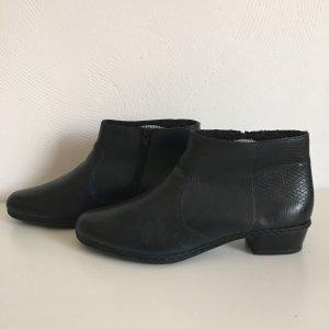 Rieker Slip on laarzen zwart