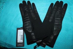 """Neue Roeckl """"Biker"""" Handschuhe; schwarz; Leder; Größe 7,5"""