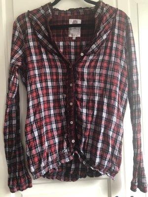 ** Neue Rot Weiß Schwarz Karierte Hemd Bluse von LTB in L **