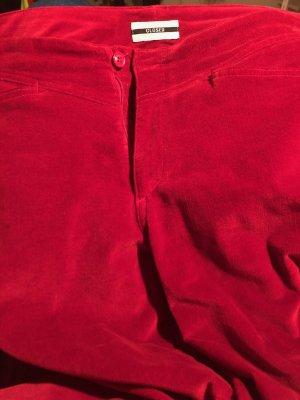 NEUE rote CLOSED Five Pocket SAMT Hose VINTAGE/ Größe 38