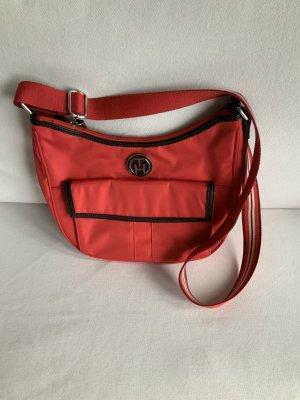 Neue rote Crossover-/College Tasche von Tommy Hilfiger