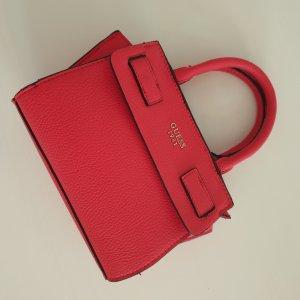neue rote Guess Handtasche