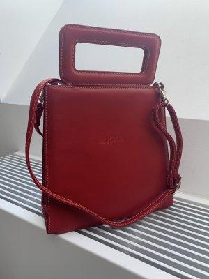 Neue rote Handtasche