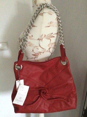 Ae boutique BY ELEGANCE S.A. PARIS Bolso rojo Cuero