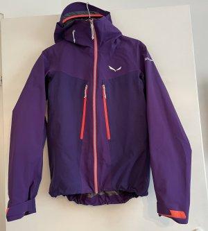 Salewa Giacca sport marrone-viola-lilla
