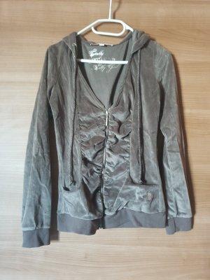 keine Hooded Vest grey