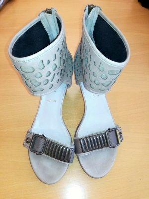 Neue #Sandale von #Högl in Gr. 6 / 39, Schlammton