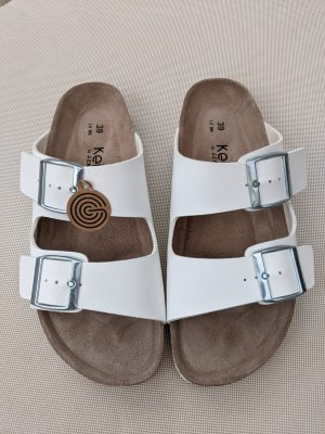 KEIRA Comfortabele sandalen wit