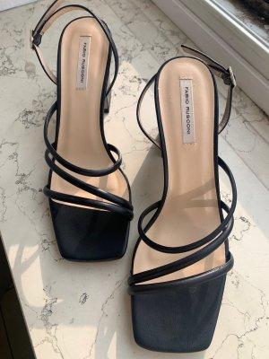 Neue Sandalen PALATA schwarz, Größe 38