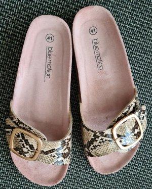 Bluemotion Comfort Sandals grey brown-beige