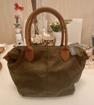 Adagio Handbag green grey-cognac-coloured