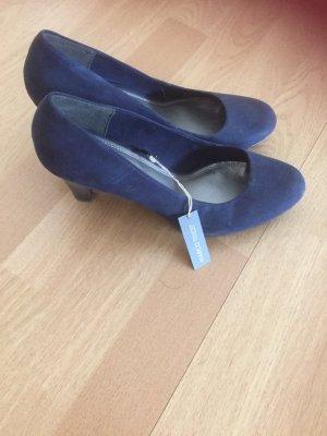 neue Schuhe, Pumps  von Marco Tozzi Gr. 41 dunkelblau